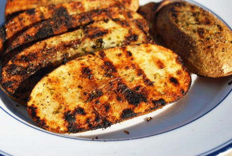 Awesome grilled potato side