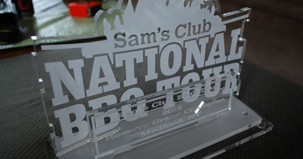 Sam's Club BBQ Tour Reserve Grand Champion