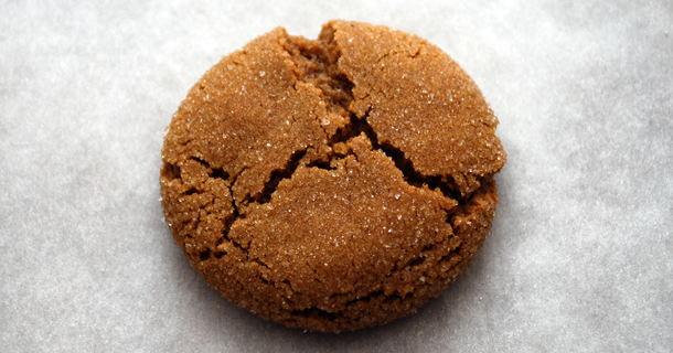 Soft Molasses Cookies