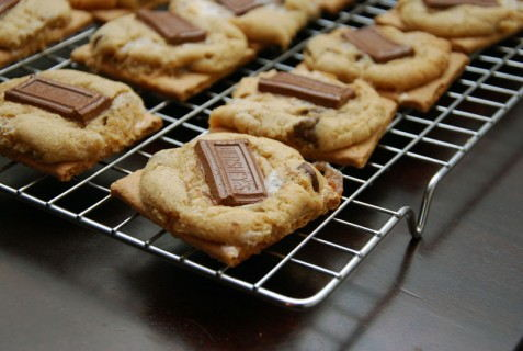 Awesome S'more Cookies
