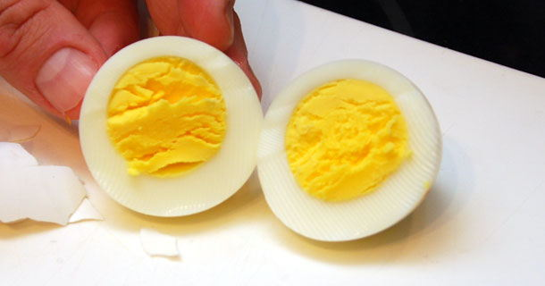 Oven Hard Boiled Eggs