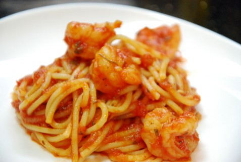 Shrimp Marinara