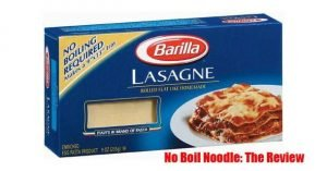 No Boil Noodle Review