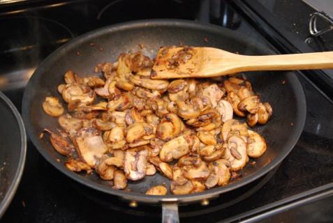 Mushrooms brown