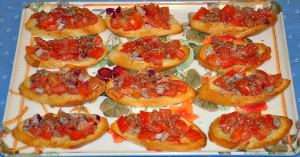 Bill's Bruschetta
