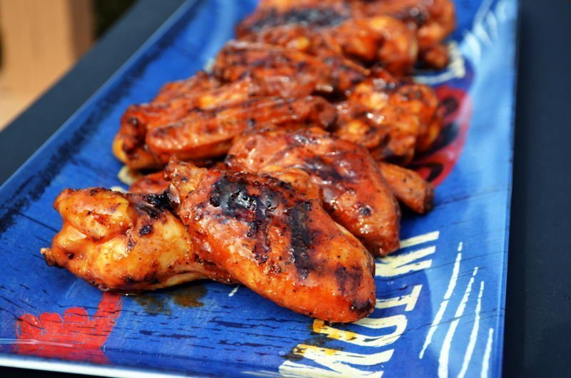 Spicy Barbecue Buffalo Wings