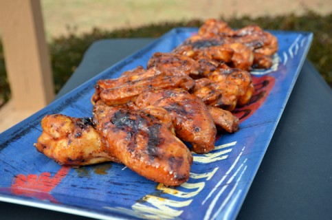 Awesome Spicy Barbecued Wings