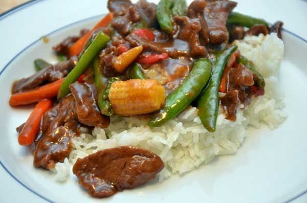 Garlic and Ginger Beef Stir-fry