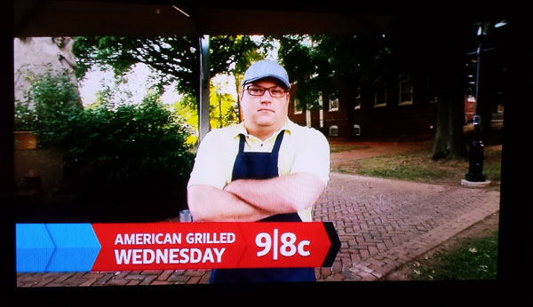Rex on American Grilled