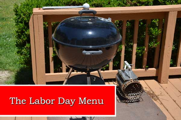 Labor Day Menu 2014