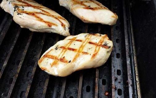 Chicken Grill Marks