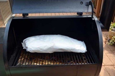 Wrap and place on the smoker