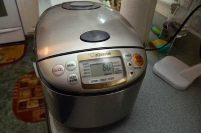 Add to your rice cooker