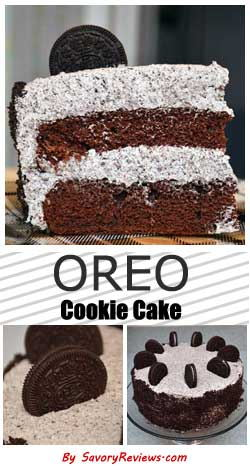 Oreo cookie cake pinterest