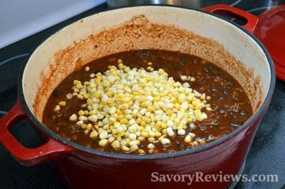 Add the corn