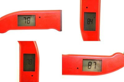 Thermapen Mk4 rotating display