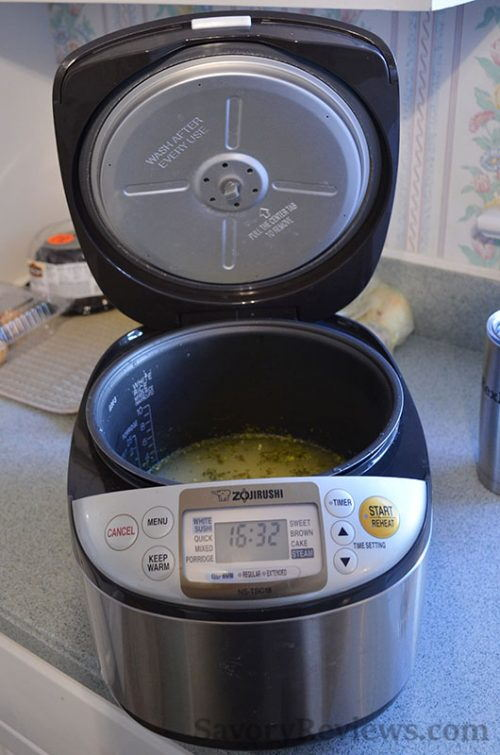 Fire up the rice cooker