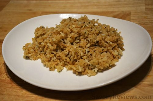Rice Cooker Herb Rice
