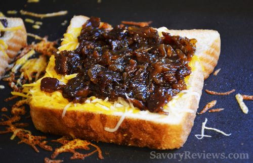 Top with Bacon Onion Jam