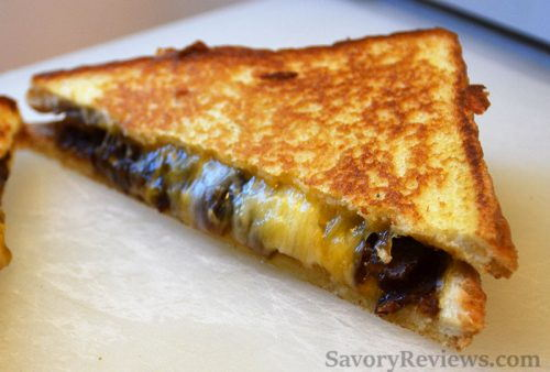 The perfect grilled cheese