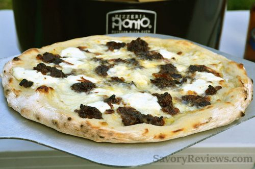 Bacon Onion Jam Pizza