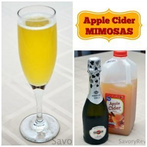 Apple Cider Mimosa Pinterest