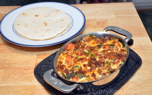 Queso Fundido Hot and Bubbly