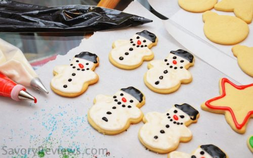 Shiny Cookie Icing