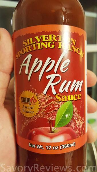 Apple Rum Sauce