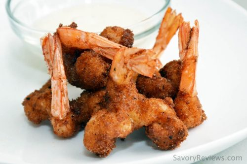 Fried BBQ Shrimp