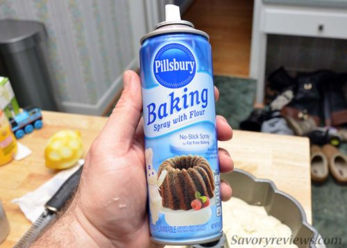 Pillsbury Baking Spray with Flour