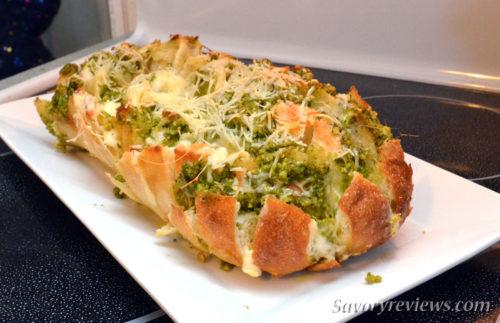 Pesto Pull Bread