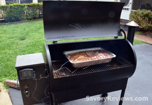 Place on your smoker and cook to 150